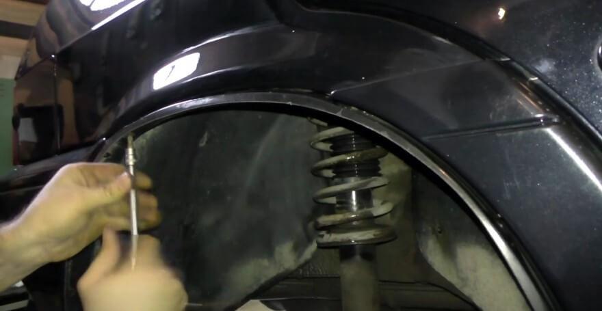 Замена бампера ВАЗ 2114, ВАЗ 2115