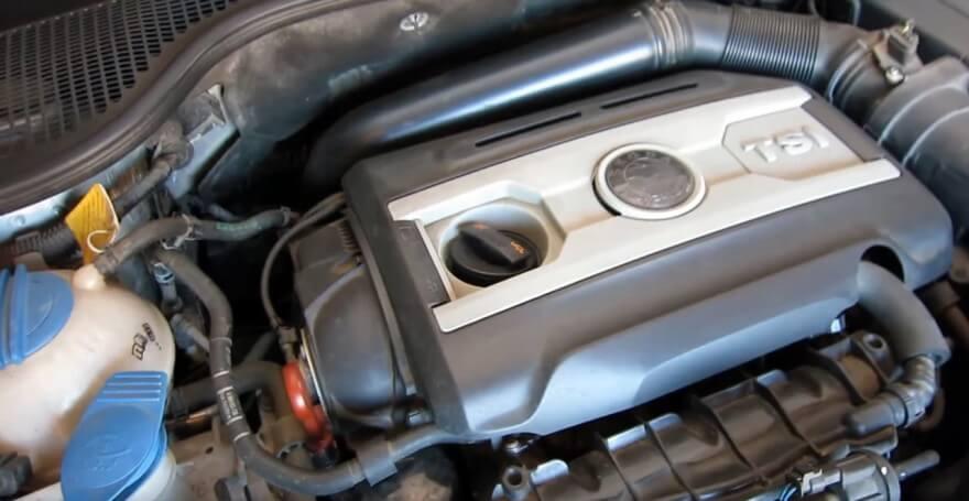 Замена масла в двигателе шкода октавия 16