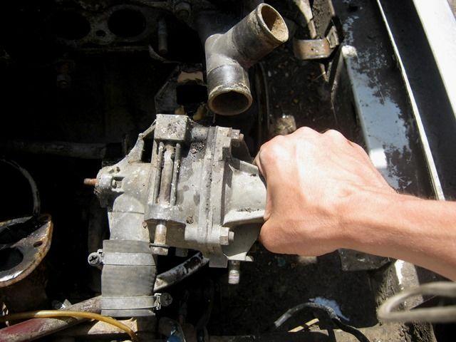 Замена помпы на ваз 21213 карбюратор своими руками